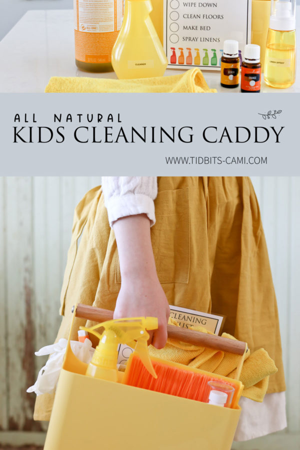 Kids Cleaning Caddy