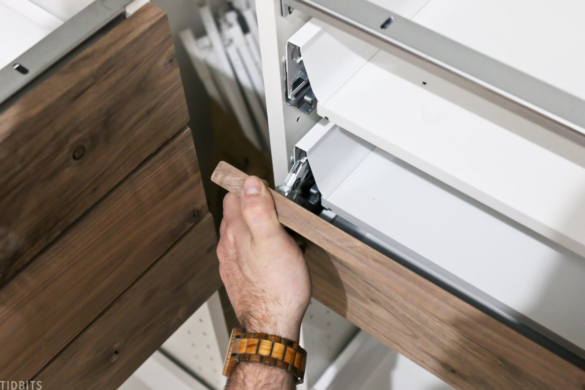 building our own drawer fronts