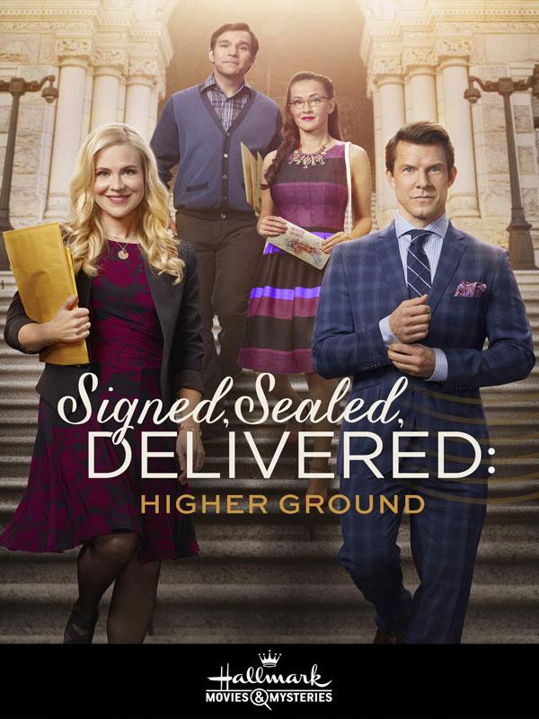 Sealed Signed Delivered - clean hallmark show.