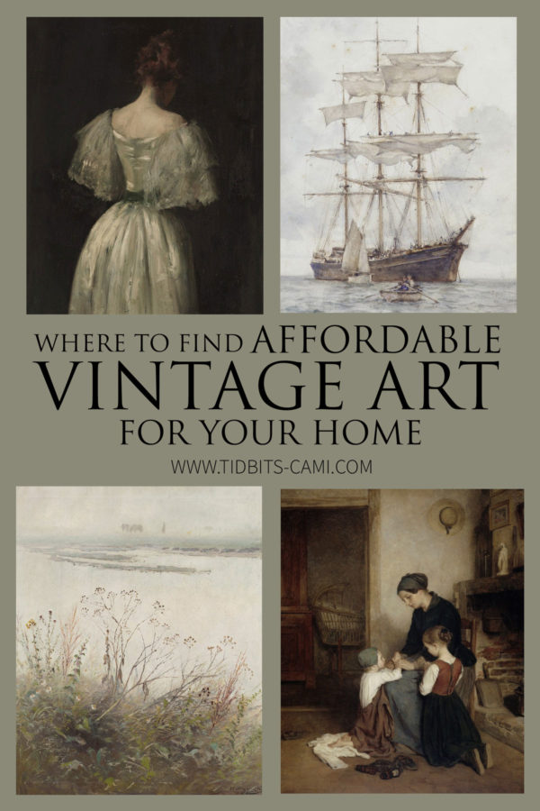 Where to Find Affordable Vintage Artwork for your Home