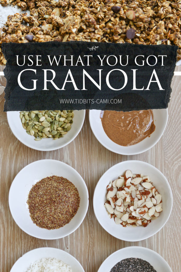 Use what you got granola recipe