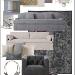 European Farmhouse Living Room Design Plans