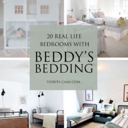 20 Stunning Bedrooms with Beddy's Bedding | In real life homes!