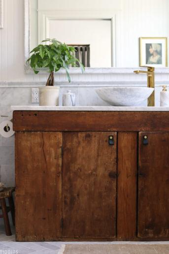 European Farmhouse Master Bathroom Reveal