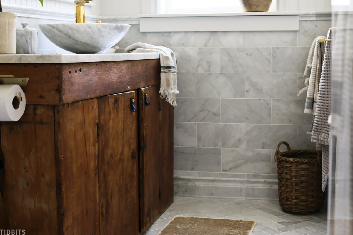 European Farmhouse Master Bathroom Reveal