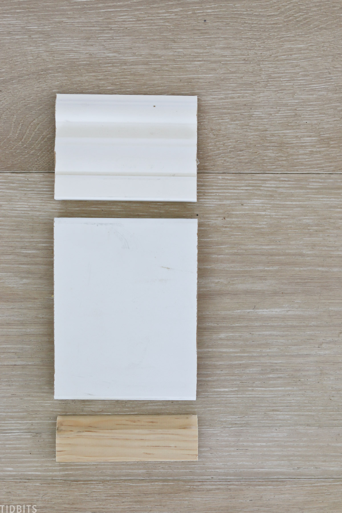 Baseboard trim pieces