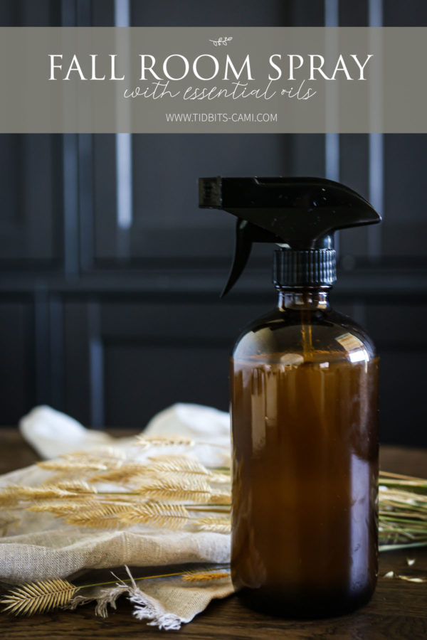 All natural Fall Room Spray with Essential Oils.