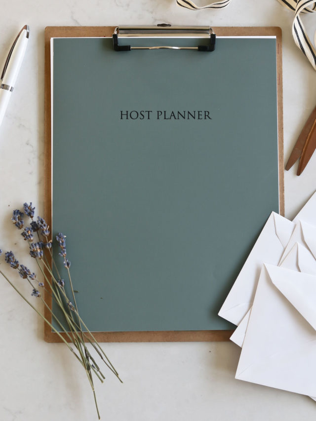 The Tidbits Host Planner Printable Story