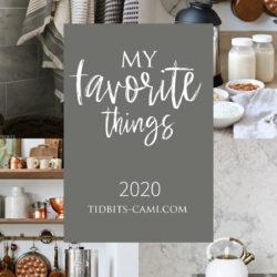 My Favorite Things | 2020