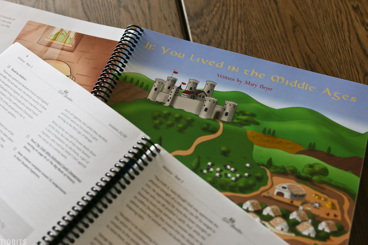 book for homeschooling titled If You Lived in the Middle Ages