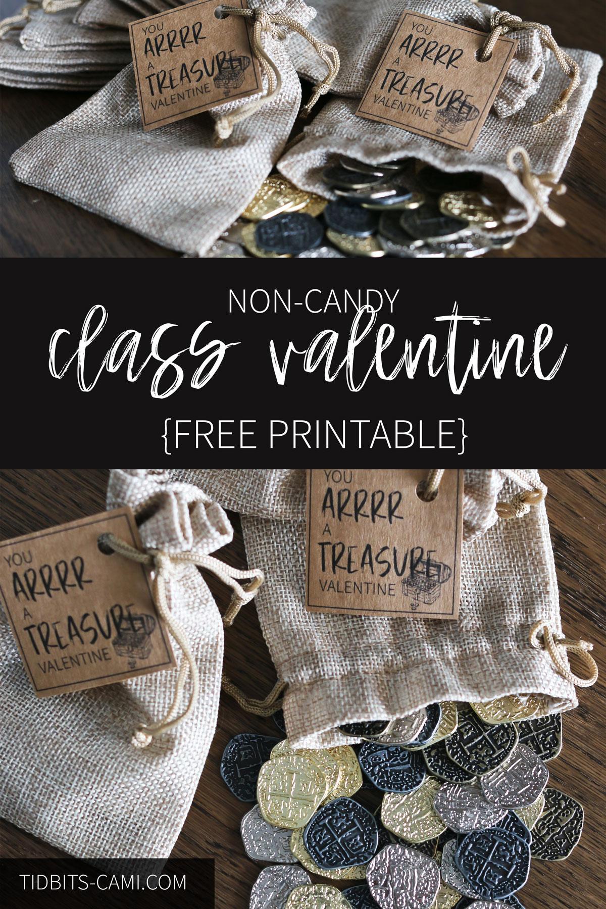 non candy class valentines idea