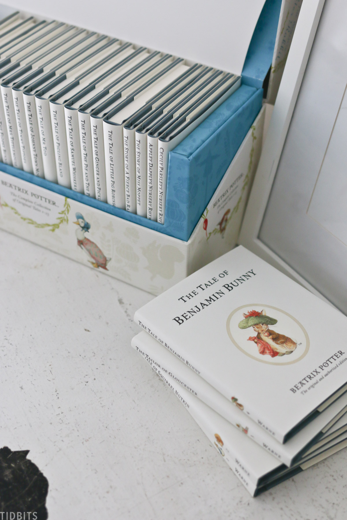 The World of Peter Rabbit, books 1 through 23, in a presentation box